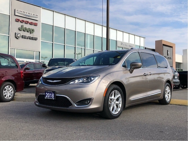 2018 Chrysler Pacifica PANORAMIC SUNROOF 2 DVD AUTO START PWR DOORS REAR CAM