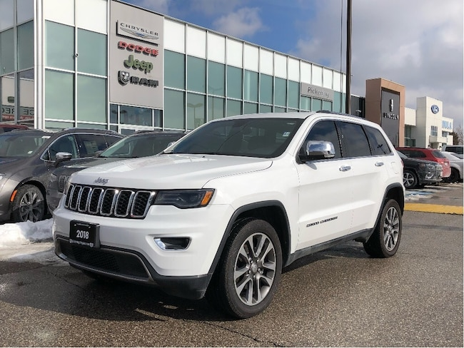 2018 Jeep Grand Cherokee Limited - 20S/NAV/Sunroof/Leather/Apple Carplay SUV