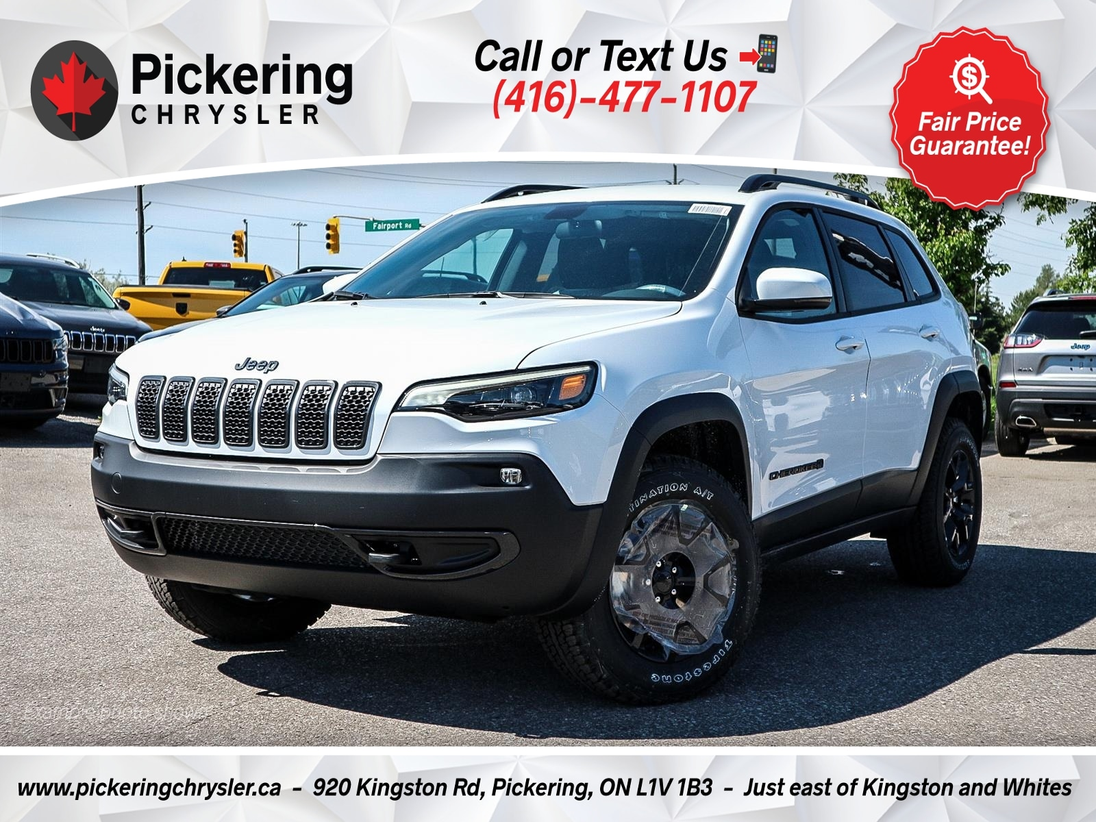 2019 Jeep New Cherokee V6 COLD WEATHER GROUP REAR CAMERA HEATED WHEEL SUV