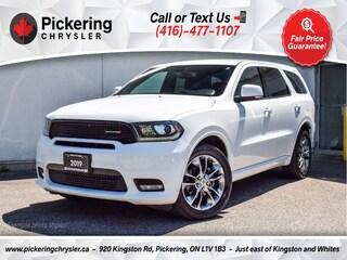 2019 Dodge Durango GT - Alcantara Seats/7 Pass/NAV/Carplay/Rear CAM SUV