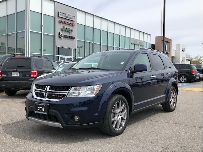 2018 Dodge Journey GT - Leather/NAV/DVD/AWD/Sunroof SUV