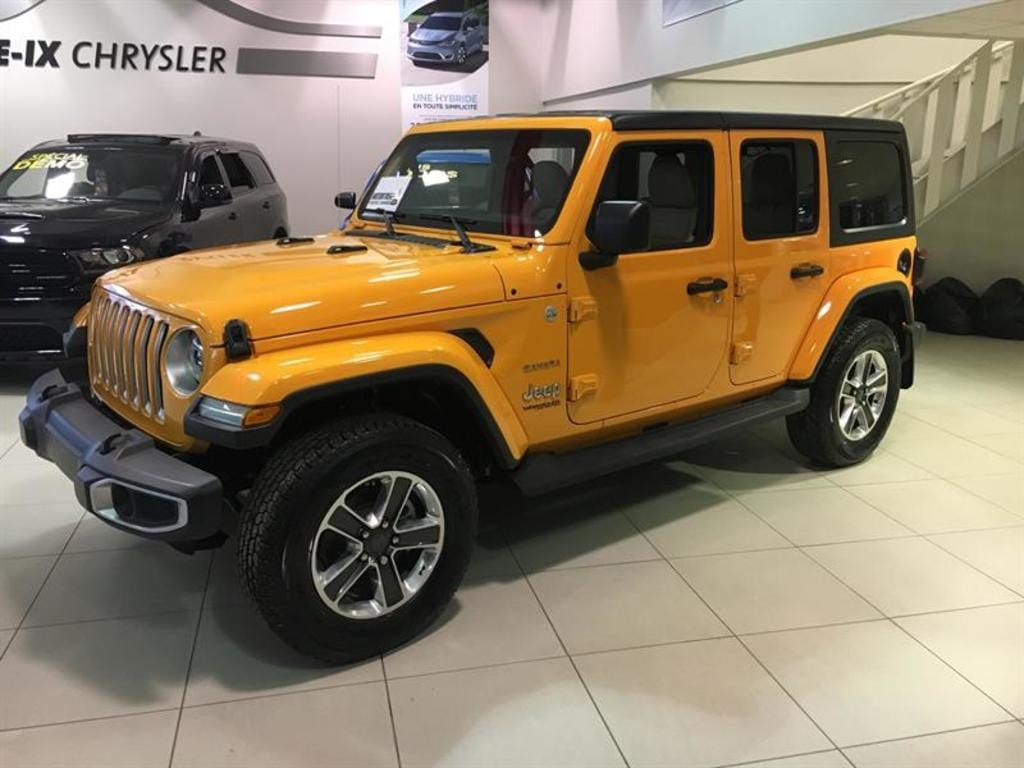 2018 Jeep All-New Wrangler Unlimited Sahara VUS