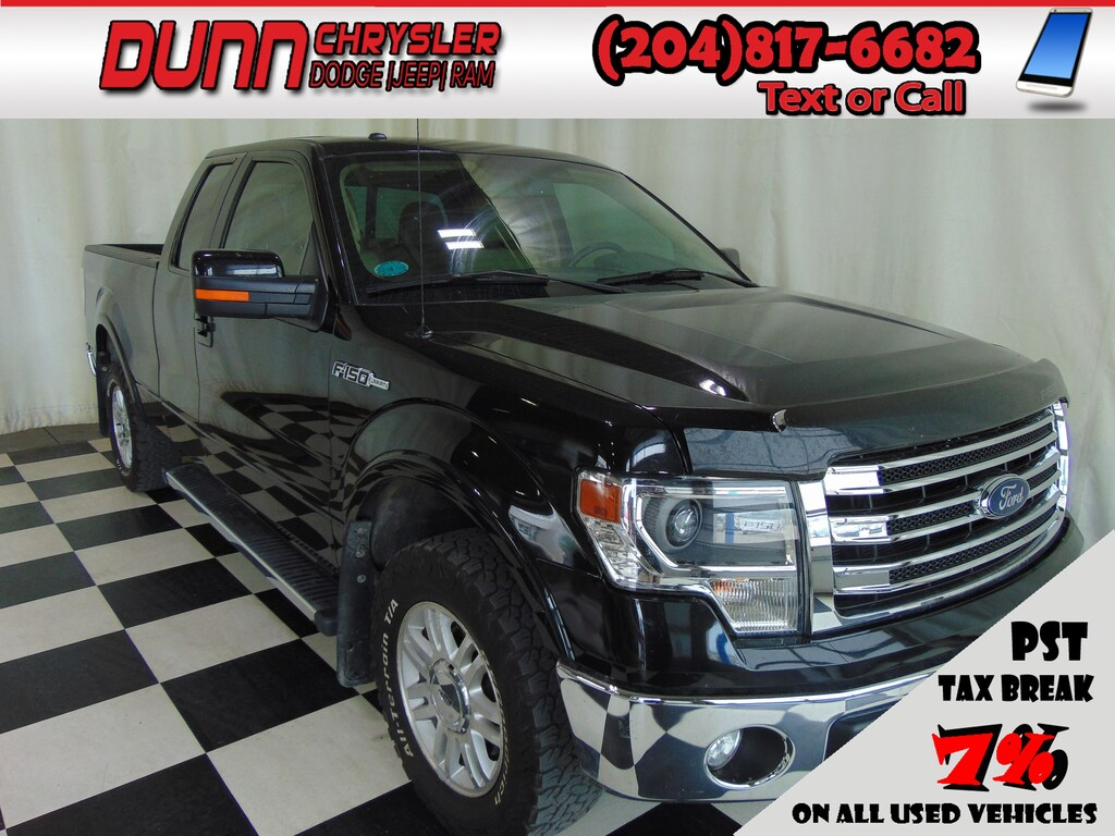 2013 Ford F-150 Lariat Supercab 4x4 * Heated/Cooled Leather *