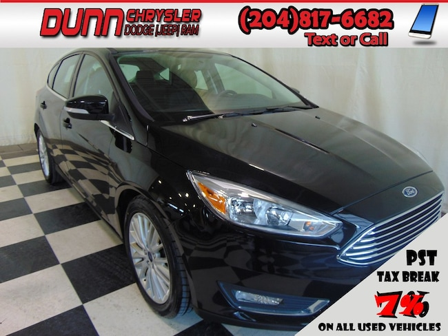 2018 Ford Focus * Titanium Hatchback * Heated Seats * Sunroof * Hatchback
