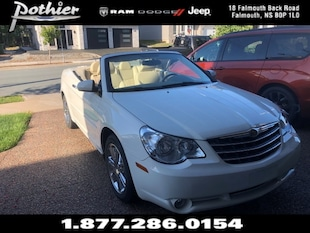 2008 Chrysler Sebring Limited   LEATHER   CONVERTIABLE   HEATED SEATS   Convertible 1C3LC65M18N261496