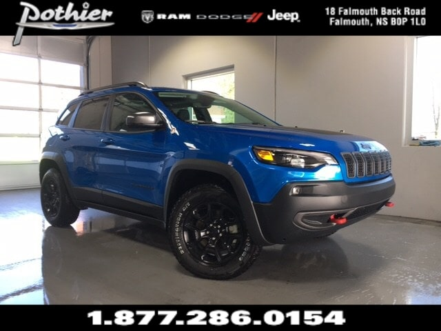 2019 Jeep New Cherokee Trailhawk Elite SUV 1C4PJMBN6KD100868
