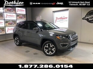 2019 Jeep Compass Limited SUV 3C4NJDCB3KT748397