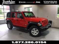 2018 Jeep All-New Wrangler Unlimited Sport S SUV 1C4HJXDN6JW135044