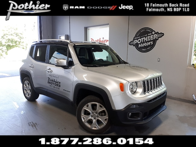 2018 Jeep Renegade Limited | LEATHER | REAR CAMERA | HEATED MIRRORS | SUV