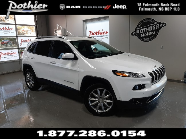 2018 Jeep Cherokee Limited | LEATHER | 8.4 TOUCHSCREEN | HEATED SEATS SUV