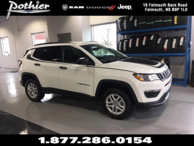 2018 Jeep Compass Sport SUV 3C4NJDAB7JT239995
