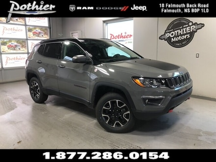 2020 Jeep Compass Trailhawk   LEATHER   SUNROOF   HEATED SEATS   SUV