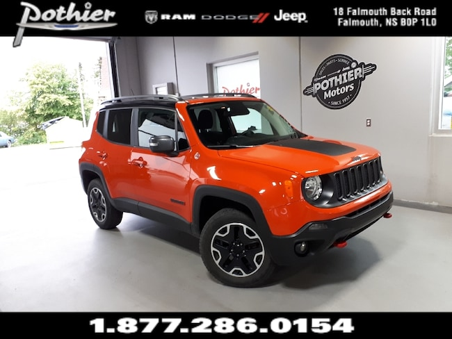 2016 Jeep Renegade Trailhawk | EXTENDED WARRANTY | REAR CAMERA | HEAT SUV
