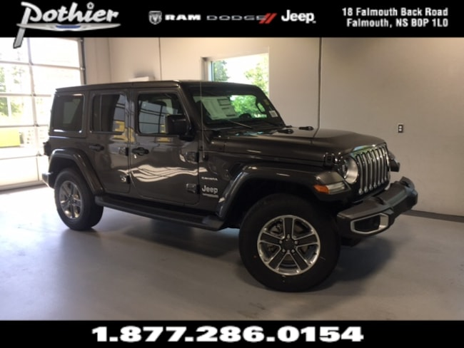 2018 Jeep All-New Wrangler Unlimited Sahara SUV 1C4HJXEG0JW192484