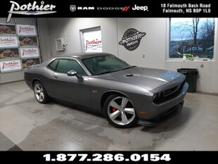 2012 Dodge Challenger SRT8 392 | MANUAL | 6.5 TOUCHSCREEN | KEYLESS | Coupe 2C3CDYCJ5CH137461