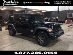 2018 Jeep All-New Wrangler Unlimited Sport S SUV 1C4HJXDG9JW191187