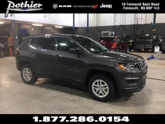 2018 Jeep Compass Sport SUV 3C4NJDAB0JT239997