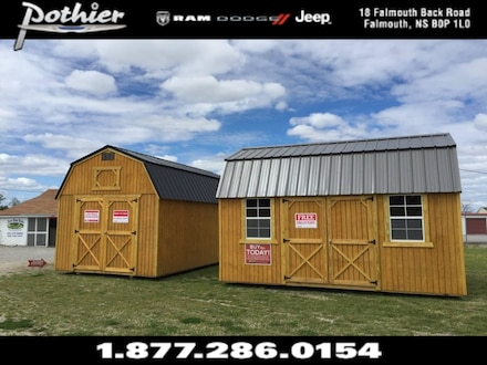 2019 Old Hickory Buildings of Hants County Lofted Barns  Shed