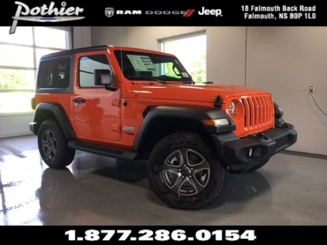 2018 Jeep All-New Wrangler Sport S SUV 1C4GJXAG6JW196394