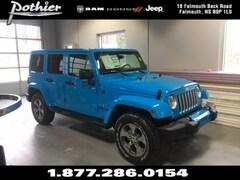 2018 Jeep Wrangler JK Unlimited Sahara SUV 1C4BJWEG7JL847371