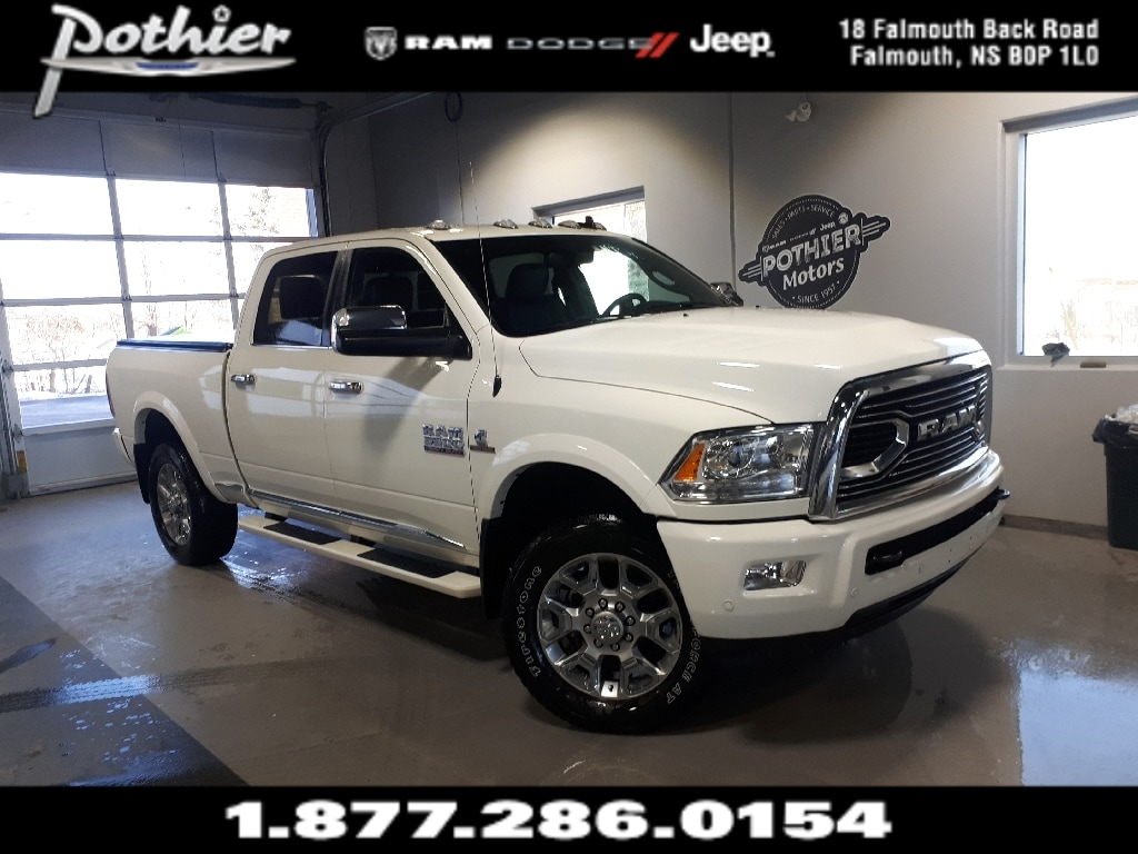 2018 Ram 3500 Longhorn | DIESEL | PARK ASSIST | HEATED SEATS | Truck Crew Cab