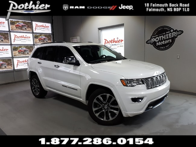 2018 Jeep Grand Cherokee Overland | LEATHER | 8.4 TOUCHSCREEN | REAR CAMERA SUV