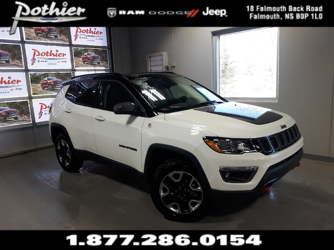 2018 Jeep Compass Trailhawk | LEATHER | SUNROOF | 8.4 TOUCHSCREEN | SUV