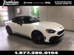 2018 FIAT 124 Spider Abarth Convertible JC1NFAEK2J0140229
