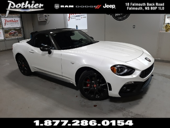 2018 FIAT 124 Spider Abarth   RWD   LEATHER   REAR CAMERA    Convertible
