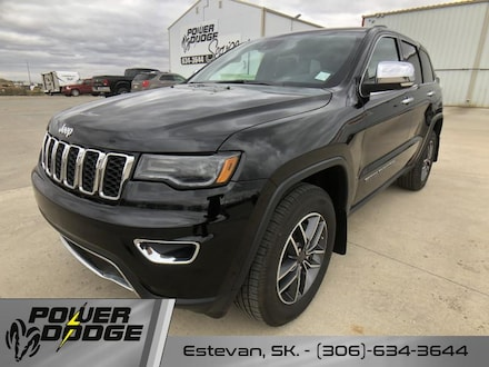 New 2019 Jeep Grand Cherokee Limited - Leather Seats SUV for sale in Estevan, SK
