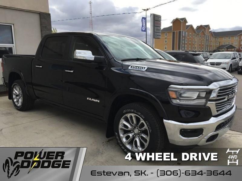 2019 Ram All-New 1500 Laramie - Hemi V8 - Leather Seats Truck Crew Cab