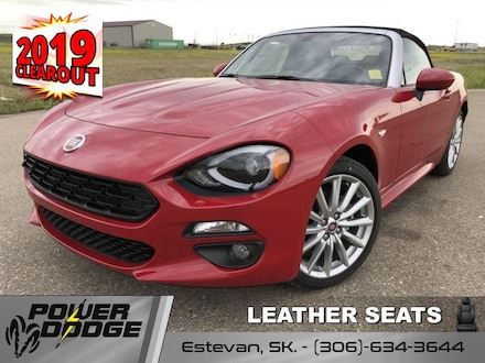 New 2019 FIAT 124 Spider Lusso Convertible - Leather Seats Convertible for sale in Estevan, SK