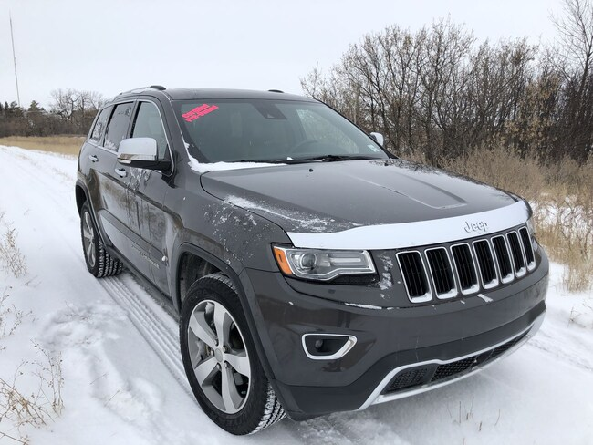 Used 2014 Jeep Grand Cherokee Limited - Navigation SUV for sale in Estevan, SK