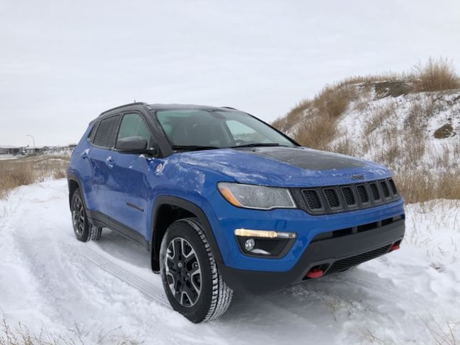 New 2019 Jeep Compass Trailhawk - Leather Seats - Power Liftgate SUV in Estevan, SK