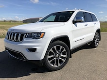 2018 Jeep Grand Cherokee Limited - Leather Seats VUS 1C4RJFBG0JC510530 in Estevan, SK