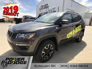 New 2019 Jeep Compass Trailhawk - Leather Seats - Sunroof SUV in Estevan, SK