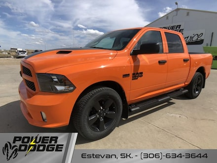 New 2019 Ram 1500 Classic Express Ignition Orange Sport Package Crew Cab for sale in Estevan, SK