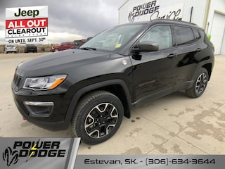 New 2020 Jeep Compass Trailhawk - Sunroof - Leather Seats SUV in Estevan, SK