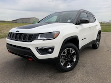 2018 Jeep Compass Trailhawk - Navigation - Advanced Safety VUS 3C4NJDDB7JT112238 in Estevan, SK