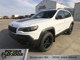 New 2021 Jeep Cherokee Trailhawk SUV in Estevan, SK