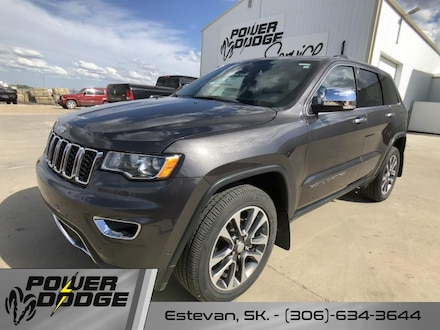 New 2018 Jeep Grand Cherokee Limited - Leather Seats SUV for sale in Estevan, SK