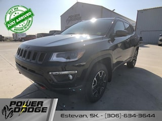 New 2021 Jeep Compass Trailhawk Elite - Sunroof - Leather Seats SUV in Estevan, SK