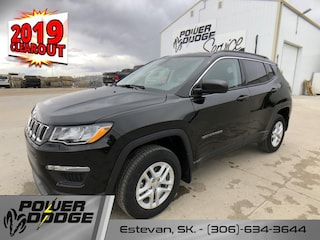 New 2019 Jeep Compass Sport - Apple Carplay -  Android Auto SUV in Estevan, SK