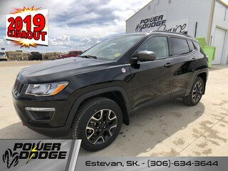 New 2019 Jeep Compass Trailhawk - Leather Seats - Heated Seats SUV in Estevan, SK