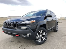 2018 Jeep Cherokee Trailhawk - Bluetooth - Low Mileage VUS 1C4PJMBX8JD593419 in Estevan, SK