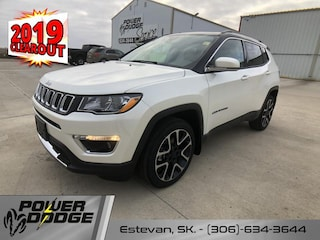 New 2019 Jeep Compass Limited - Navigation -  Leather Seats SUV in Estevan, SK
