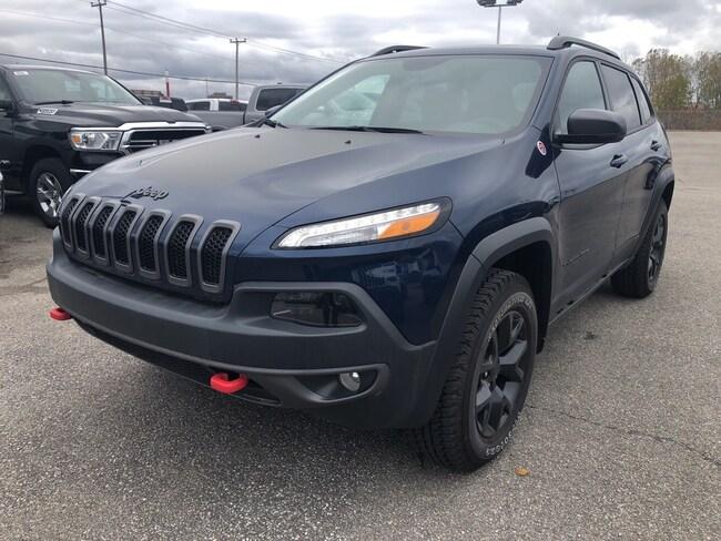 2018 Jeep Cherokee Trailhawk Leather Plus VUS