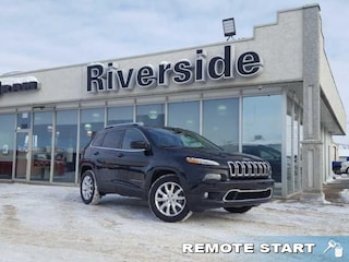 New 2016 Jeep Cherokee Limited - Leather Seats -  Bluetooth - $149 B/W SUV for sale in Prince Albert, SK
