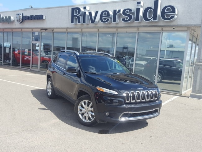 2017 Jeep Cherokee Limited - Navigation -  Uconnect - $190 B/W SUV