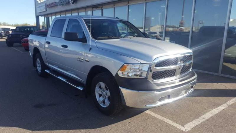 Featured used  2018 Ram 1500 ST - $201 B/W - Low Mileage Crew Cab for sale in Prince Albert, SK
